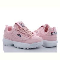 Модные кроссовки женские Bayota розовые