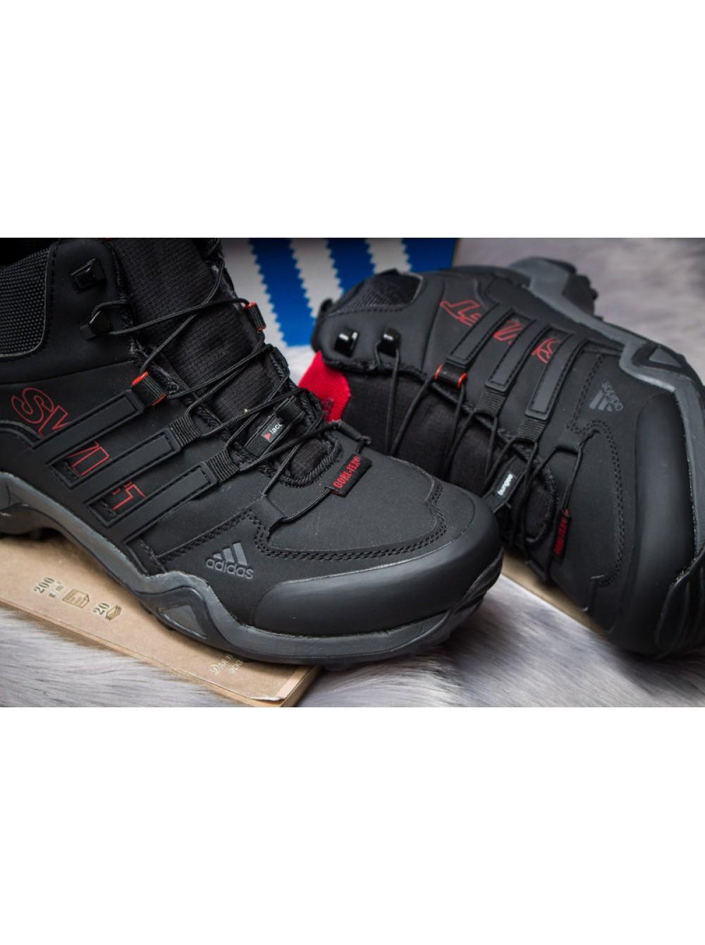 a8fd25e6 Ботинки зимние Adidas Terrex Gore Tex, Чёрные, 30514, 41-46р. купить