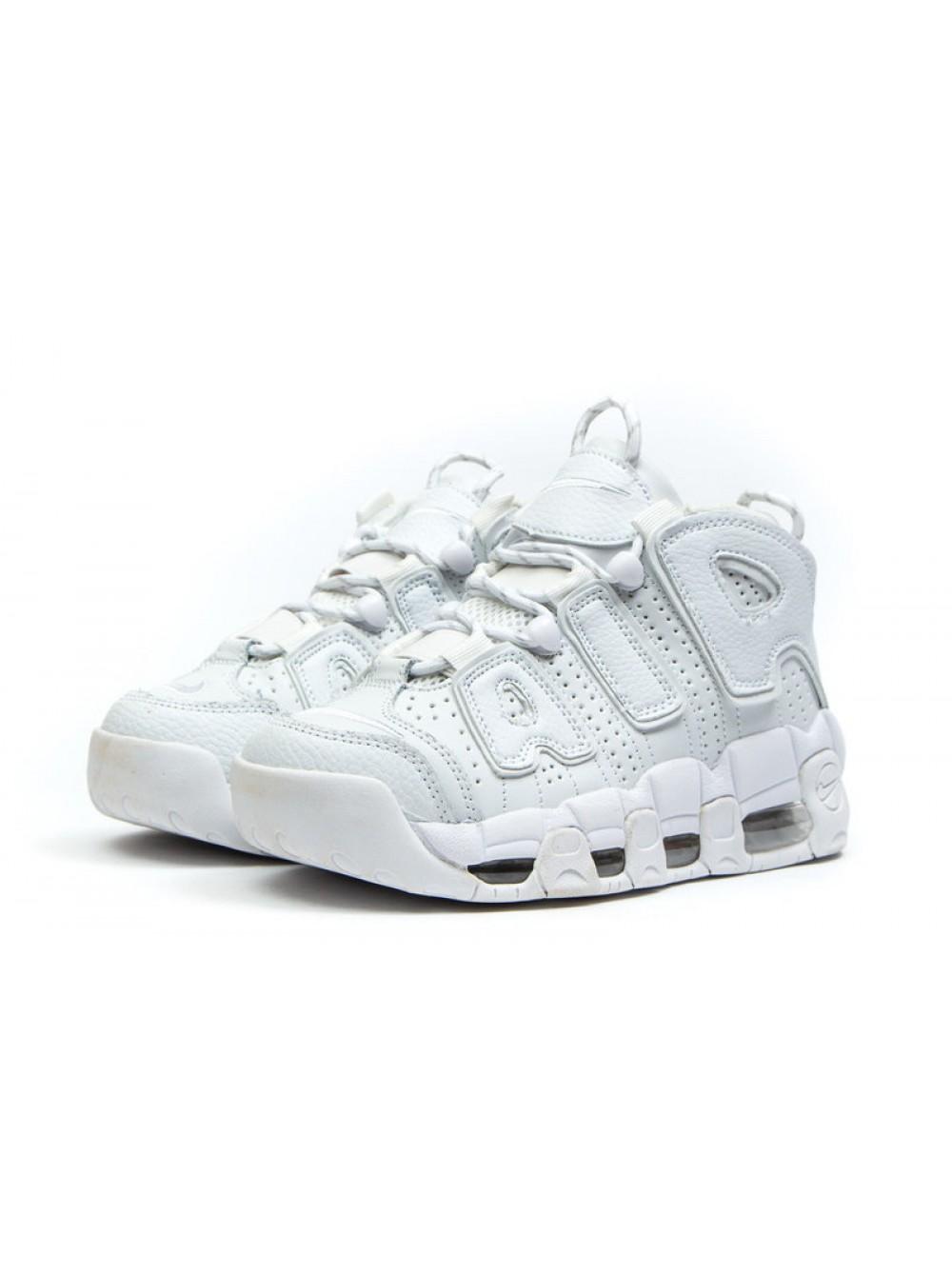 8080170d Кроссовки Nike Uptempo, Белые, 36-42р., купить в Киеве и Украине