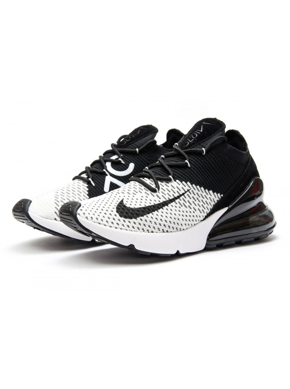 4230ed61 Мужские кроссовки Nike Air 270 Чёрные с белым купить с доставкой по Украине