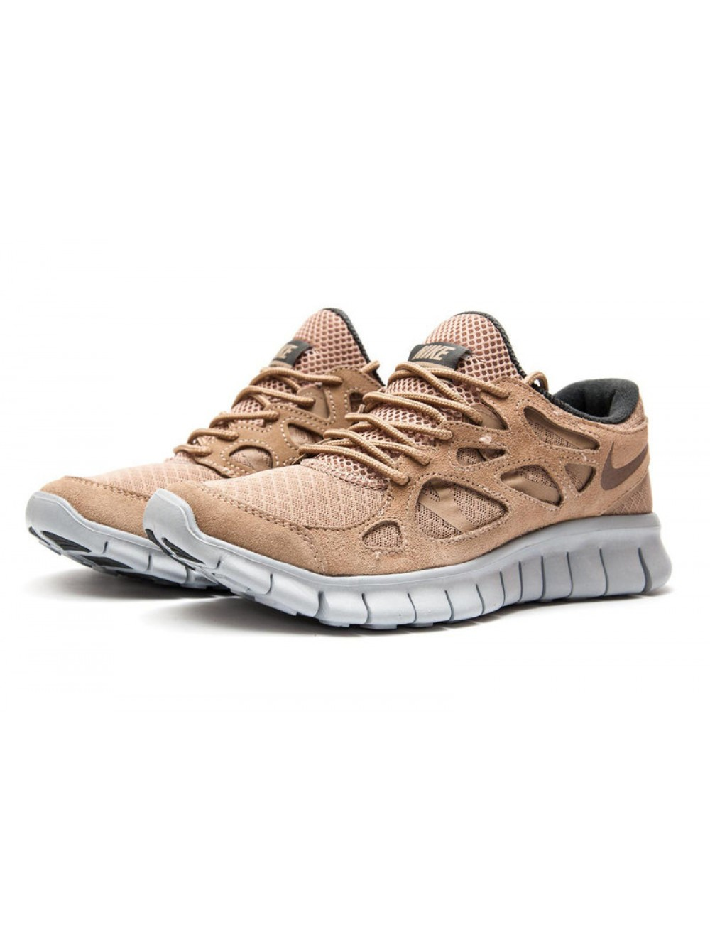 d8770577 Кроссовки для бега Nike Free Run, Коричневый, 13443, 41-45р. Купить