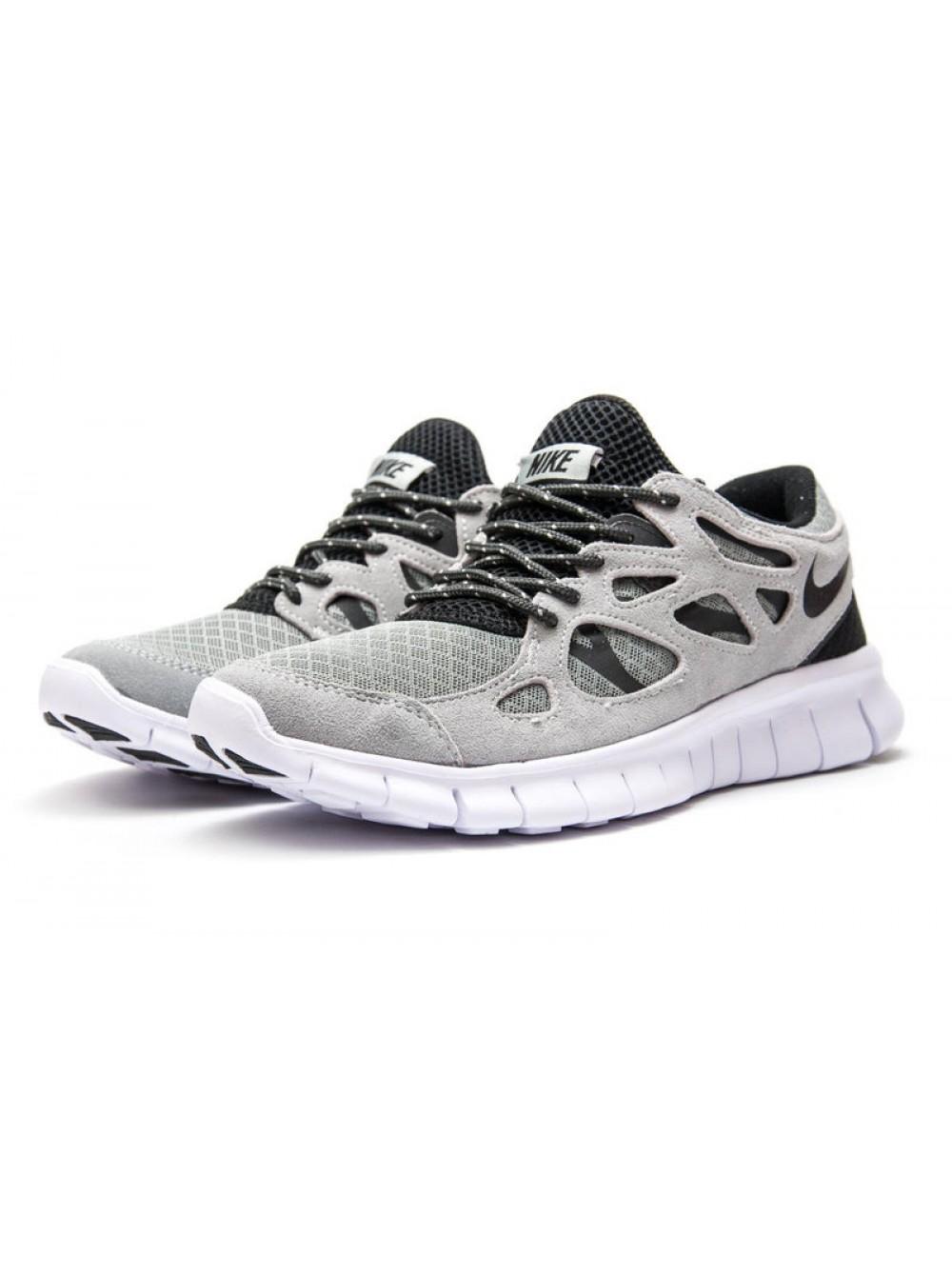 3448042e Кроссовки Nike Free Run, Светло-серый, 13445, 41-45р. Купить