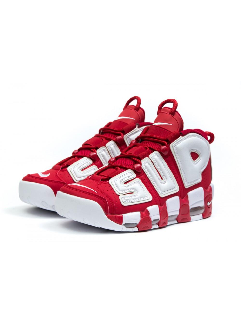 Мужские кроссовки кожаные Nike Air More Uptempo купить недорого c5f24c5112bc5