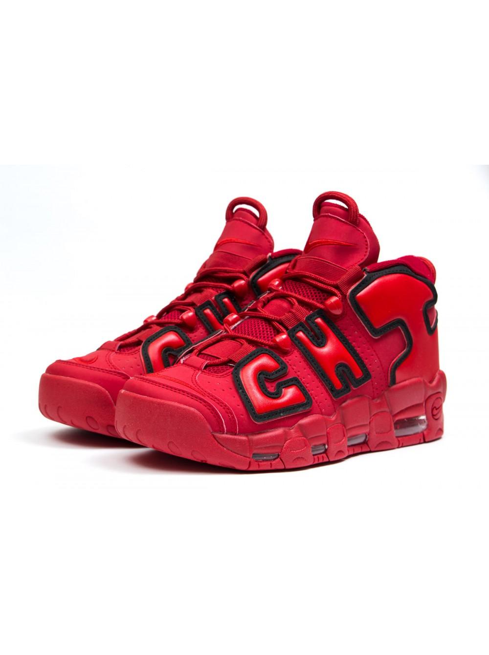 Мужские кроссовки Nike Air More Uptempo Красные купить по скидке в Киеве ccfd658d81aa3