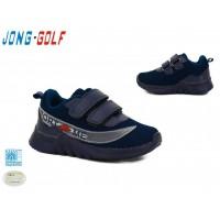 Кроссовки Jong-Golf детские светящиеся,  B2429-1, Синие, 26-31р.