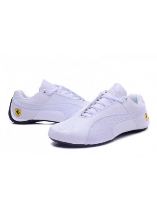Кроссовки Puma Ferrari Low All White 40-45р.