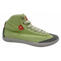 Высокие кроссовки Restime FWZ1101 Зеленые