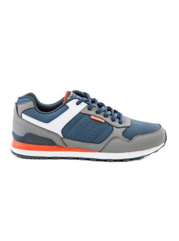 Кроссовки Restime PMO16076 GREY NAVY 41-45