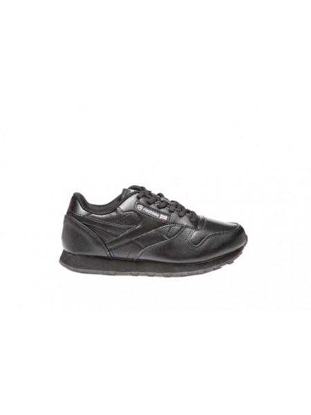 Кроссовки кожаные Restime XMO18105, Чёрные,  41-45р.