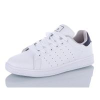 Кроссовки кожаные Restime белые, 36-41р.